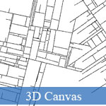 3D Canvas Substrate in JavaScript