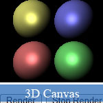 3D JavaScript Ray Tracer