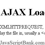 AJAX Page Content Loader
