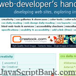 10 huge lists of resources for web development © JavaScriptBank.com
