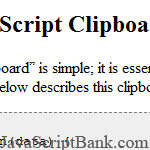 Accessing the System Clipboard content with JavaScript