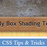 Awesome Box Shading Skill with CSS only