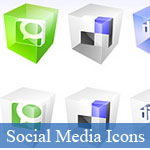 20 Best of Beautiful Social Media Icons Sets - p3 © JavaScriptBank.com
