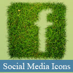 20 Best of Beautiful Social Media Icons Sets - p6 © JavaScriptBank.com