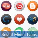 20 Best of Beautiful Social Media Icons Sets