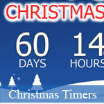 Best Christmas Countdown Timers for 2012 © JavaScriptBank.com