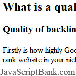Good Solutions for Building Backlinks