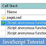 Guide pour d?boguer Anonyme fonctions JavaScript