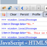 HTML5 localStorage : Tutorial et Basics