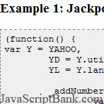 Numéros Jackpot - JavaScript Just For Fun