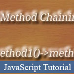 JavaScript Chaining Methods