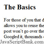OOP in JavaScript: Some Basics