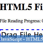 Processing Local Files in JavaScript with HTML5