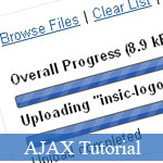 Simple AJAX File Uploader