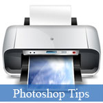 Steps to Design A Detailed Printer Icon in Photoshop