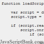 The best way to load external JavaScript