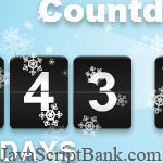 Top 10 Beautiful Christmas Countdown Timers © JavaScriptBank.com