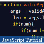 Validating JavaScript Argument Type and JavaScript Object Type