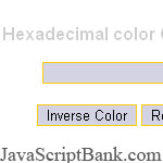Inverse color Previewer