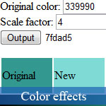 JavaScript Color Gradient Maker
