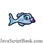 JavaScript Swimming Fish