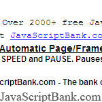 Automatic Page/Frame Scroller