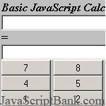 Basic JavaScript Calculator