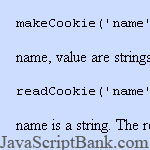 Cookies in JavaScript