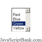 Color listbox