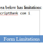 JavaScript RegEx Example Code for Text Input Limitations