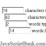 Limit Characters and Words Entered