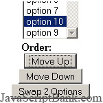 Select Box with Options