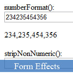 Simple JavaScript Number Formatter