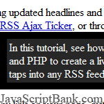 Fading inline Rich HTML Tooltip
