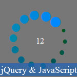 JavaScript progression du chargement Effect avec jQuery