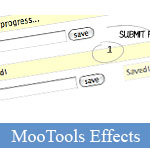 Nice AJAX Effects for Messages Box using MooTools