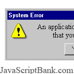 Joke Error Message