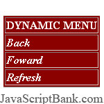Dynamic Right Click Menu