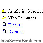 Flip Menu (contre 5,0) © JavaScriptBank.com