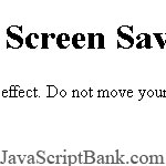 Opener Screensaver Script