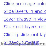 Sliding Layers: Layers in Motion