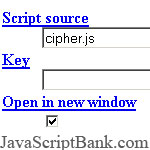 Web Cipher