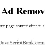 Banner Ad Remover