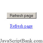 Refresh Page Button