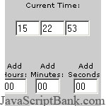 Add Time script