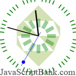 CoolClock - Super nice Javascript Analog Clock