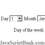 Day of Week script