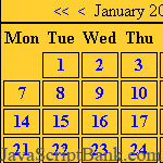 fcp Calendrier