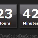 Super Neat JavaScript Countdown Timer © JavaScriptBank.com