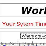 World Time Zone script